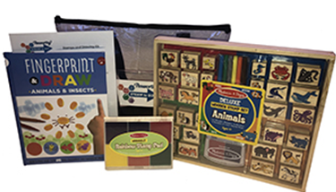 Stamps & Drawing Kit