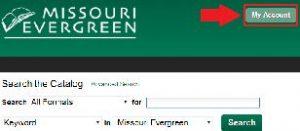 Access My Account on Missouri Evergreen