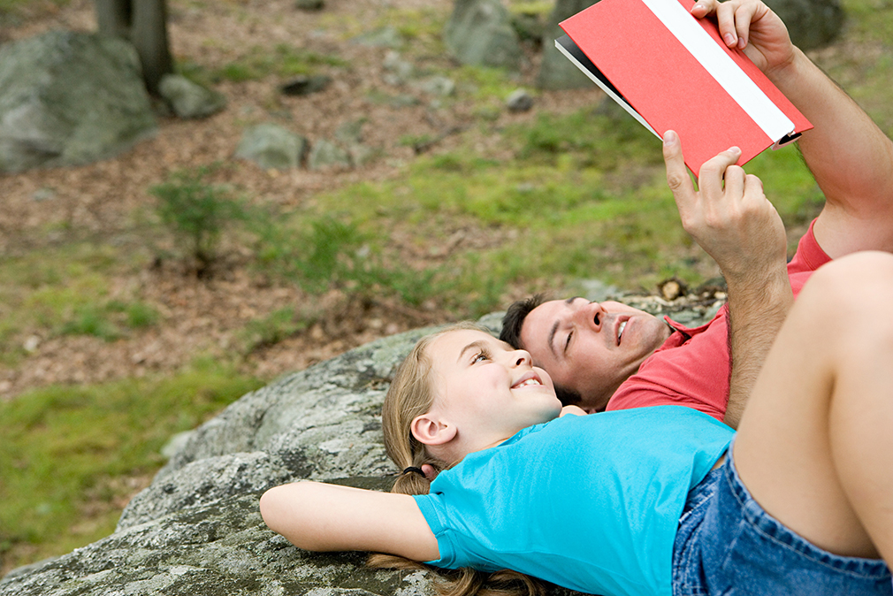 Reading Together Helps Nurture a Love of Reading