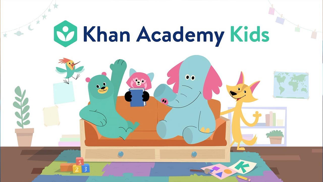 Khan Kids Academy for ages 2 - 1st Grade