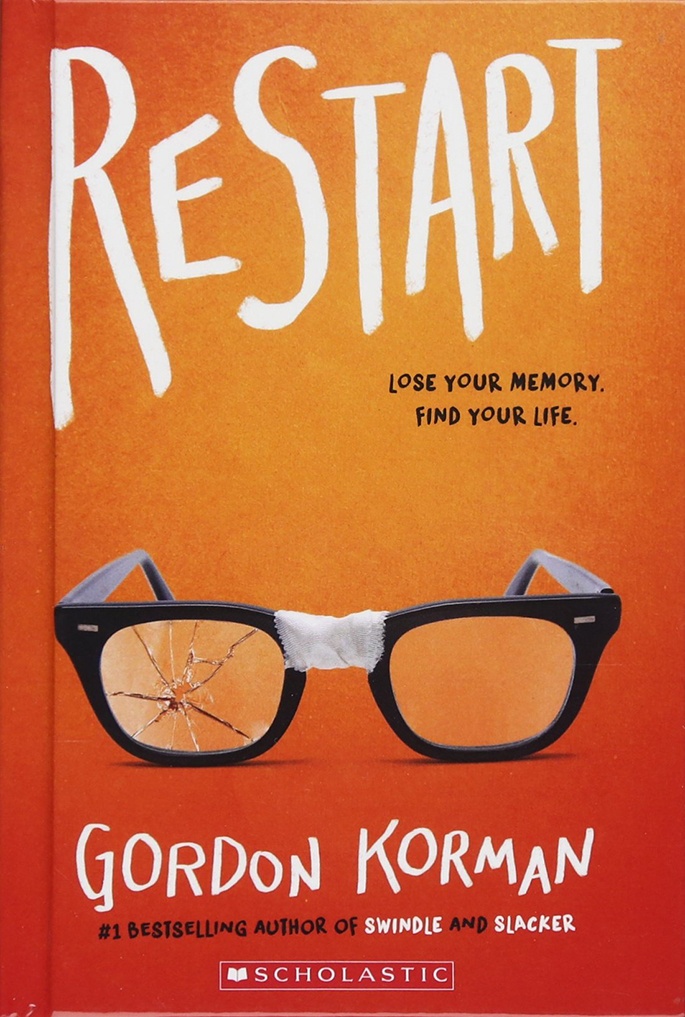 Restart by Gordon Korman (2nd Place, 2019-20)