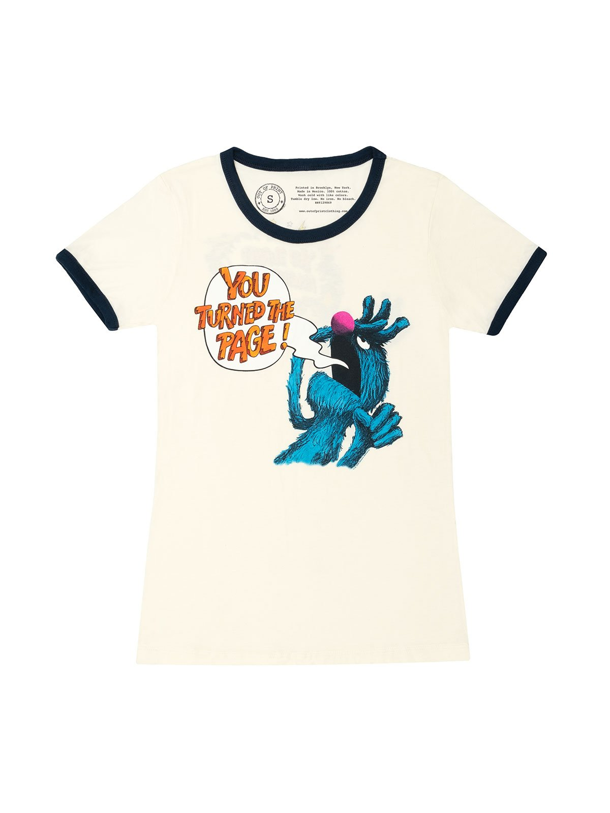 Grover T-Shirt from Out of Print