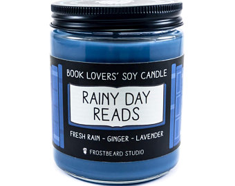 Literary Inspired Scented Candle