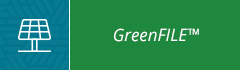 blue and green button with GreenFile