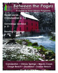Between the Pages Cover with Ally Springs Grist Mill